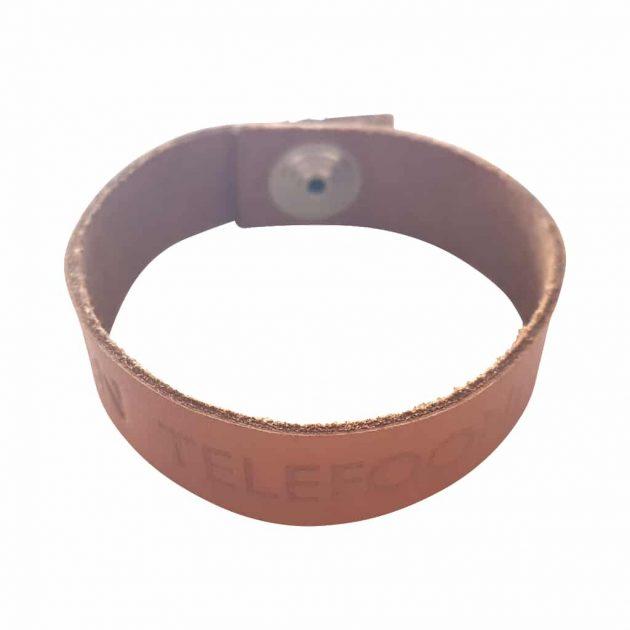 leren SOS-armband