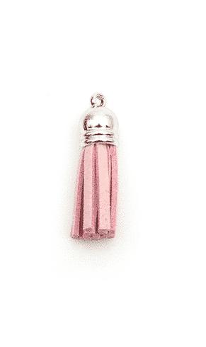bedel kwastje roze