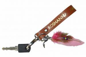 sleutelhanger lus roze
